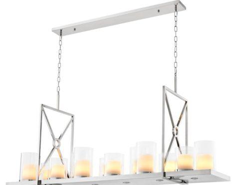 Lantern chrome square