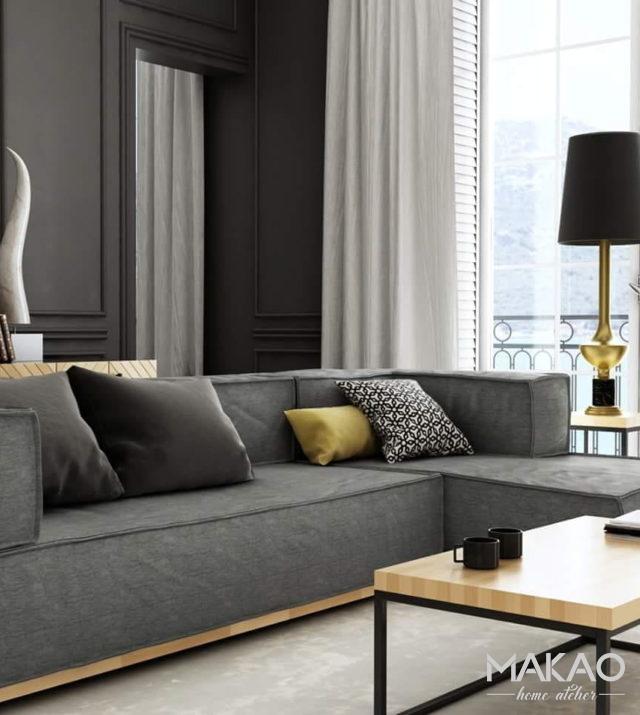 Sofa modułowa + puf