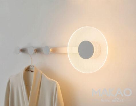 Wieszak lampa